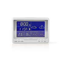 Nedis WEST203WT Weerstation Hygrometer Datum/tijd Buiten-unit