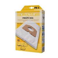 Kleenair 4 SMS Stofzuigerzakken Philips Oslo + 1 Filter