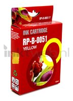 Huismerk Brother LC-970Y / LC-1000Y geel (Huismerk (compatible))