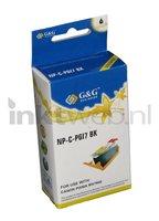 Huismerk Canon PGI-7BK zwart (Huismerk (compatible))