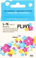 FLWR Lexmark 16 zwart (Huismerk (remanufactured))