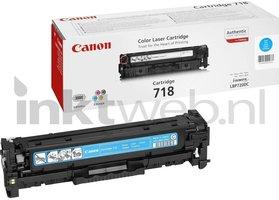 Canon 718 cyaan (Origineel)