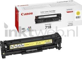 Canon 718 geel (Origineel)