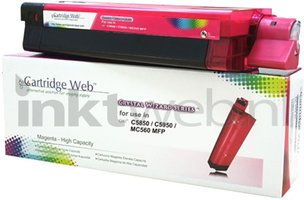 Huismerk Oki C5850 / C5950 / MC560 magenta (Huismerk (compatible))