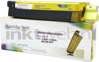 Huismerk Oki C5850 / C5950 / MC560 geel (Huismerk (compatible))