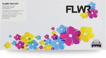FLWR Brother TN-135Y geel (Huismerk (remanufactured))
