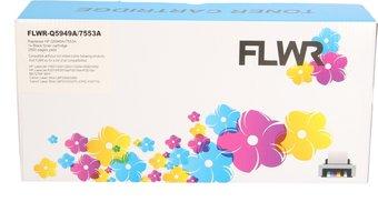 FLWR HP 49A zwart (Huismerk (compatible))