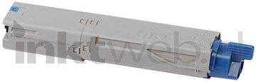Huismerk Oki C3300 / C3400 / C3450 / C3600 cyaan (Huismerk (compatible))