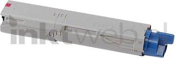Huismerk Oki C3300 / C3400 / C3450 / C3600 magenta (Huismerk (compatible))