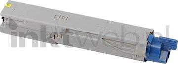 Huismerk Oki C3300 / C3400 / C3450 / C3600 geel (Huismerk (compatible))