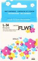 FLWR Lexmark 34XL zwart (Huismerk (remanufactured))