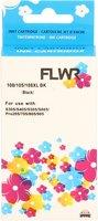 FLWR Lexmark 100XL zwart (Huismerk (remanufactured))