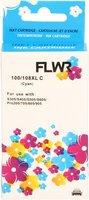 FLWR Lexmark 100XL cyaan (Huismerk (remanufactured))