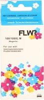 FLWR Lexmark 100XL magenta (Huismerk (remanufactured))