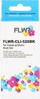FLWR Canon CLI-526BK zwart (Huismerk (compatible))