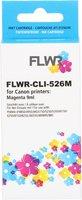 FLWR Canon CLI-526M magenta (Huismerk (compatible))