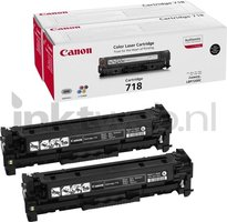 Canon 718 Duopack zwart (Origineel)