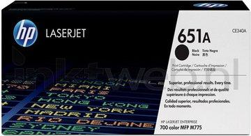 HP 651A zwart (Origineel)