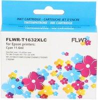 FLWR Epson 16XL cyaan (Compatible XXL)