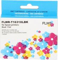 FLWR Epson 16XL zwart (Compatible XXL)