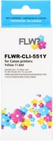 FLWR Canon CLI-551Y geel (Huismerk (compatible))