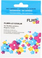 FLWR Brother LC-125XLM magenta (Compatible XXL)