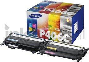 Samsung CLT-P406C zwart en kleur (Origineel)