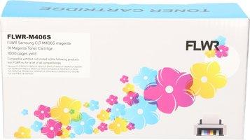 FLWR Samsung CLT-M406S magenta (Huismerk (compatible))