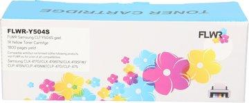 FLWR Samsung CLT-Y504S geel (Huismerk (compatible))