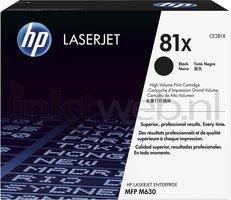 HP 81X zwart (Origineel Hoge Capaciteit)