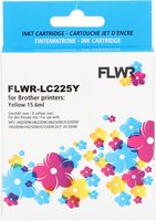 FLWR Brother LC-225Y geel (Compatible XXL)