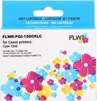 FLWR Canon PGI-1500XL cyaan (Huismerk (compatible))