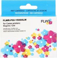 FLWR Canon PGI-1500XL magenta (Huismerk (compatible))