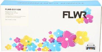 FLWR Dell 3110 magenta (Huismerk (compatible))