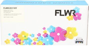 FLWR Dell 3110 geel (Huismerk (compatible))