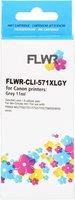FLWR Canon CLI-571 XL grijs (Huismerk (compatible))
