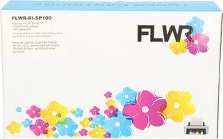 FLWR Ricoh SP-100 zwart (Huismerk (compatible))