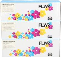 FLWR HP 131A 3-pack kleur (Huismerk (compatible))