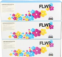 FLWR HP 128 3-pack kleur (Huismerk (compatible))