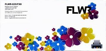 FLWR Canon T/FX-8 zwart (Huismerk (compatible))