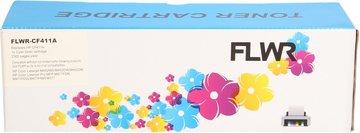 FLWR HP 410A cyaan (Huismerk (compatible))