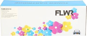 FLWR HP 410X cyaan (Compatible XXL)