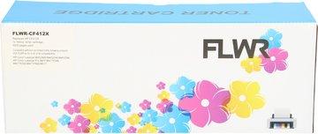 FLWR HP 410X geel (Compatible XXL)