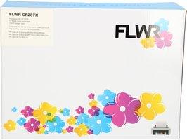 FLWR HP 87A zwart (Huismerk (compatible))