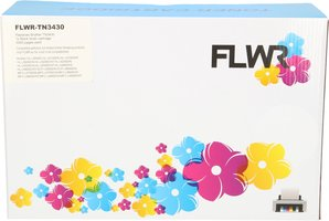 FLWR Brother TN-3430 zwart (Huismerk (compatible))