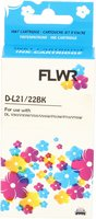 FLWR Dell 22 / 592-11327 zwart (Huismerk (compatible))