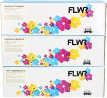 FLWR HP 312A 3-pack kleur (Huismerk (compatible))