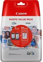 Canon PG-545XL / CL-546XL Multipack zwart en kleur (Origineel Hoge Capaciteit)