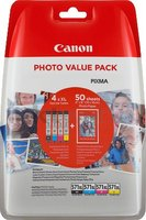 Canon CLI-571XL Multipack zwart en kleur (Origineel Hoge Capaciteit)
