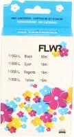 FLWR HP 934XL / 935XL Multipack zwart en kleur (Huismerk (compatible))